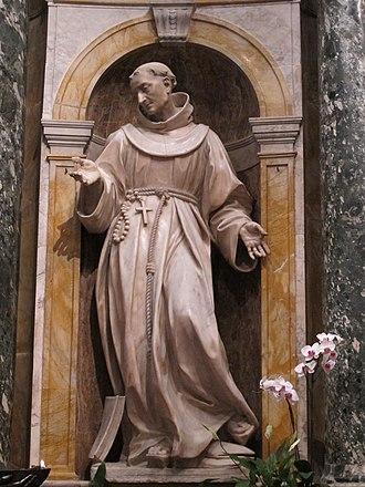 Antonio Raggi - Image: Cappella chigi (siena), antonio raggi, San Bernardino 02