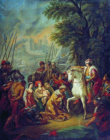 Григорий Угрюмов. Иван IV под Казанью, около 1800