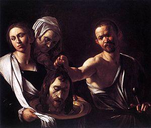 Salome Con La Cabeza De Juan El Bautista Caravaggio Londres