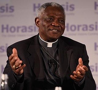 Peter Turkson Ghanaian cardinal of the Catholic Church (born 1948)
