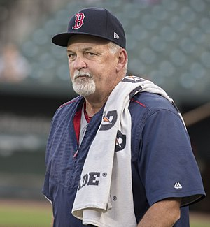 Carl Willis - Willis as pitching coach of the Boston Red Sox in 2017