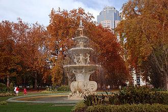 Carlton Gardens - Image: Carlton Gardens in autumn