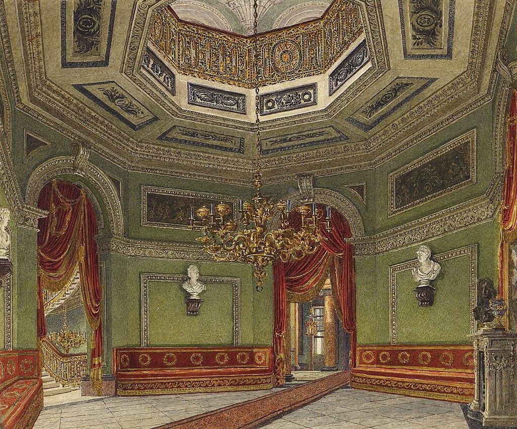 Carlton House, Vestibule, by Charles Wild, 1819 - royal coll 922172 257090 ORI 0.jpg