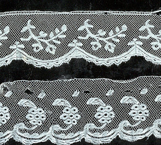 Valenciennes lace - Private collection