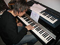 Carsten playing the Fender Rhodes.jpg