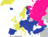 Carte du Conseil de l'Europe