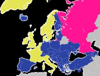 Member states of the Council of Europe - Image: Carte du Conseil de l'Europe