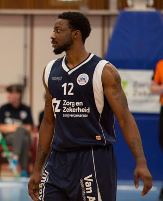 Cashmere Wright - Wright as a player for ZZ Leiden in 2016