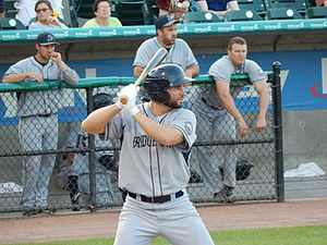 Casper Wells - Wells playing for the Bluefish.