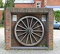 Cast Iron Tyreplate, Fibbards Road, Brockenhurst - geograph.org.uk - 170678.jpg