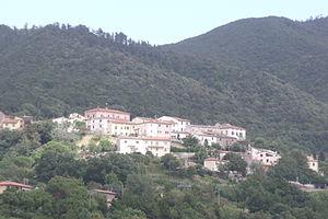 Castellina Marittima - Panorama of Castellina Marittima