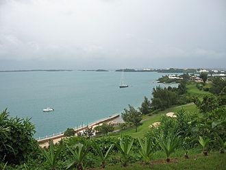 Castle Harbour, Bermuda - Castle Harbour from Tucker's Town