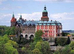 Zamek Ksi�� w Wa�brzychu