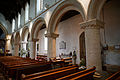 Castle Hedingham, St Nicholas' Church, Essex England, nave south aisle.jpg