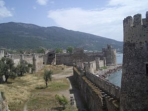 Anamur - Mamure, the old Crusader castle.