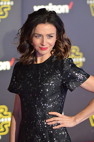 Caterina Scorsone - Scorsone at the world premiere of Star Wars: The Force Awakens