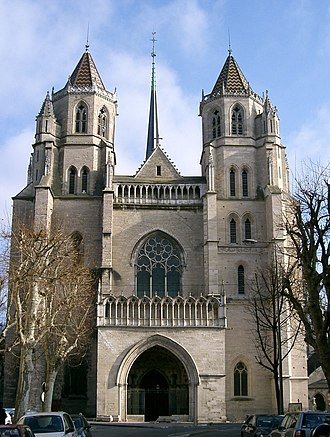 Benignus of Dijon - Cathedral of Saint Bénigne, Dijon