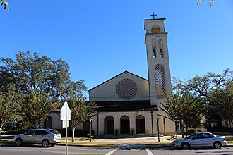Roman Catholic Diocese of Pensacola–Tallahassee - Cathedral of the Sacred Heart in Pensacola
