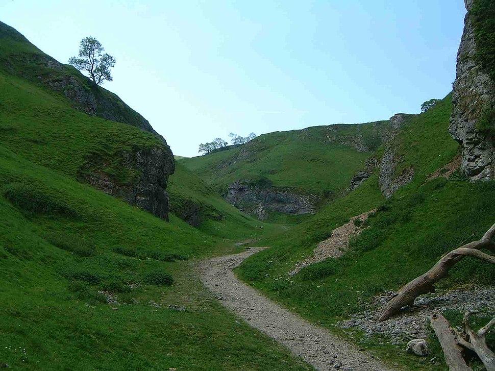 Cave Dale, Derbyshire