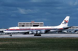 Cayman Airways - Douglas DC-8 in 1985