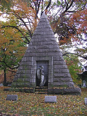 National Register of Historic Places listings in Connecticut - Cedar Hill Cemetery, Hartford, Connecticut