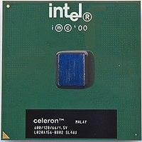 Celeron Coppermine 128 with 600 MHz