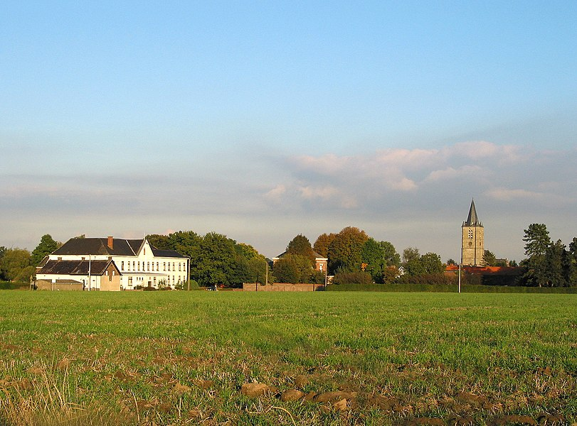 Celles (Hainaut) (Belgium), general view.