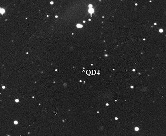 "(315898) 2008 QD4 - Centaur 2008 QD4 (apmag 19) as seen with 24"" telescope"