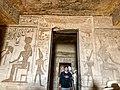 Central Hall, Temple of Hathor and Nefertari, Abu Simbel, AG, EGY (48016699756).jpg