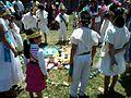 Ceremonia azteca de bienvenida a la primavera en Ayahualulco, Veracruz, México. 04.jpg