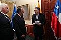 Ceremonia de Deposito del Instrumento de Ratificación al Protocolo Adicional al Tratado Constitutivo de la Unión de Naciones Suramericanas UNASUR. Sobre Compromiso con la Democracia por Parte de la República de Chile (6836537664).jpg