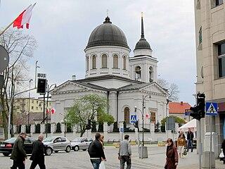 Orthodox Cathedral of St. Nicholas in Białystok Church in Centrum District, Białystok