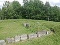 Cetatea dacică Costești-Blidaru-Zidurile cetatii.jpg