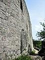 Château d'Andlau. Pied de la grand muraille est.jpg