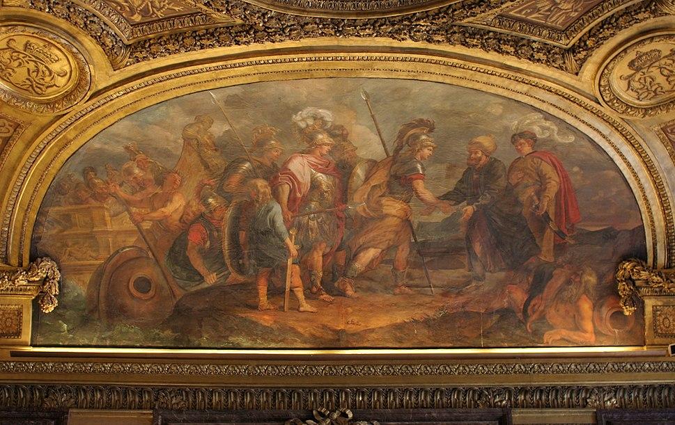 Château de Versailles, salon de Diane, Jason et les Argonautes débarquant en Colchide, Charles de La Fosse
