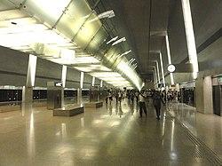 Changi Airport MRT Station Platform 20121111.jpg