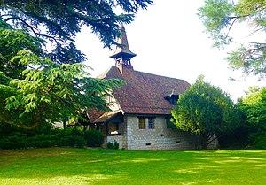 "Pregny-Chambésy - The Protestant Chapel ""des Cornillons"" of Pregny-Chambésy."