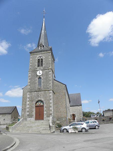 Église Saint-Pierre-et-Saint-Paul de Charchigné (53).