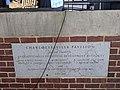 Charlottesville Pavilion plaque Fridays After Five downtown Charlottesville VA June 2021.jpg