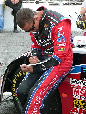 Chase Austin - Austin at Nashville Superspeedway in 2007