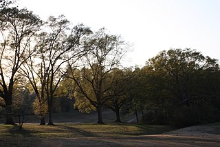 Chastain Park city park in Atlanta, Georgia, United States of America