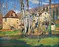 Chaumières au printemps d'H. Martin (Musée Unterlinden, Colmar).jpg