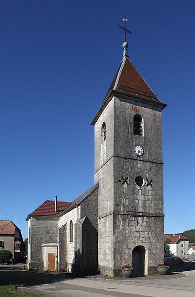 Église de Chaux-les-Passavant (Doubs).