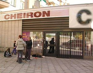 No Strings Attached (NSYNC album) - Some of the songwriters and producers for the album including Max Martin came from Cheiron Studios (pictured) in Stockholm, Sweden.