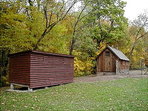 Chellberg Farm - Corncrib and the Chicken Coop