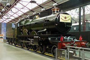 GWR 4073 Class 4073 Caerphilly Castle - Caerphilly Castle in the STEAM museum