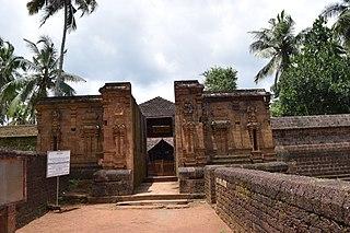 Chemmanthatta Mahadeva Temple temple located in Thrissur District, Kerala, India