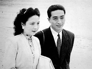 Chen Gexin - Chen Gexin and wife Jin Jiaoli