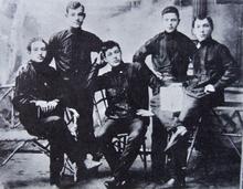 Miembros deChórnoe Znamia