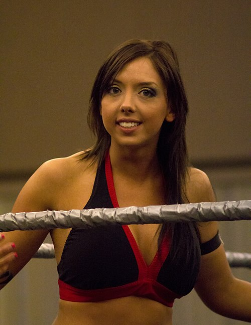 Allie: The Cherry Bomb of the Knockouts division